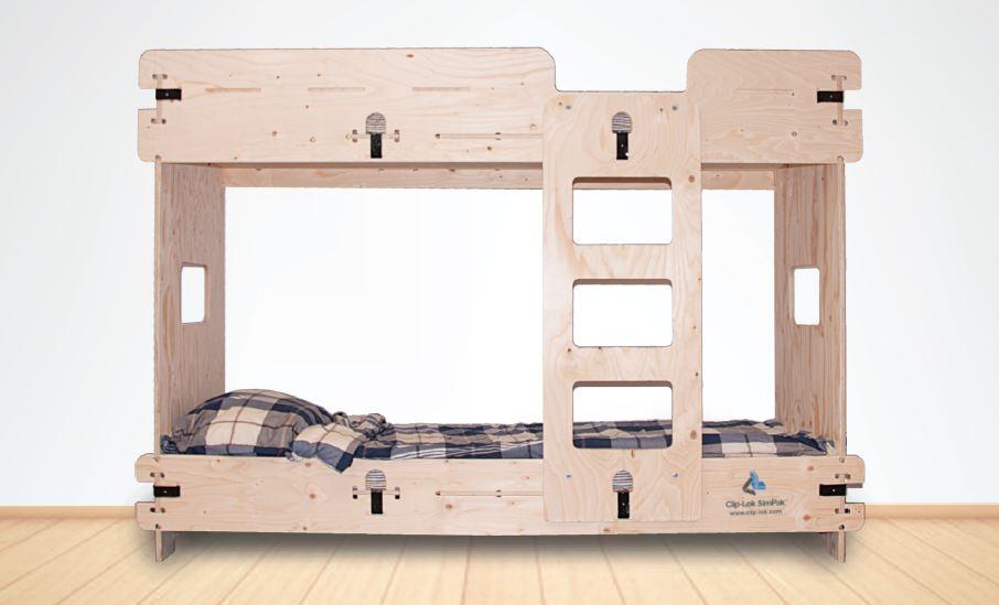 Clip-Lok Bunk Bed