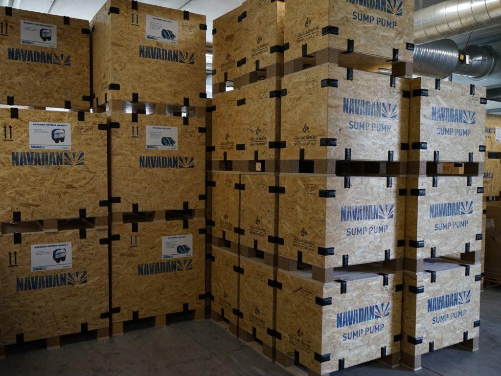 förpackningslösning för högtrycksrengöringsutrustning