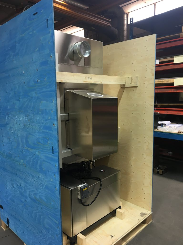 packaging for extraction cabinets
